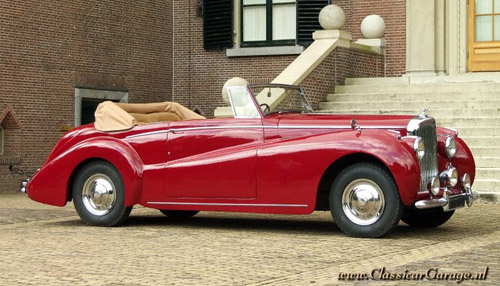 Abbott Bentley Mk VI Drophead Coupe #B146DA 1949