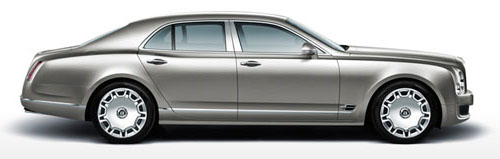 Bentley Mulsanne profile