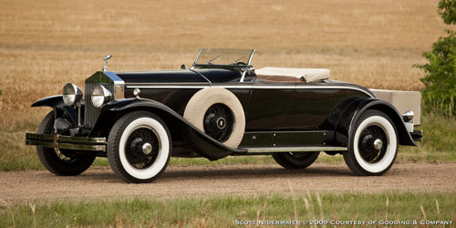Brewster Rolls-Royce Phantom I York Roadster