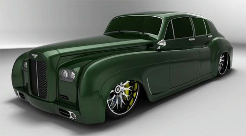 Bentley Hot Rod