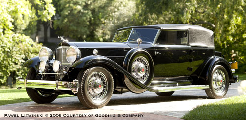 Dietrich Packard Model 904 Custom Eight Convertible Victoria