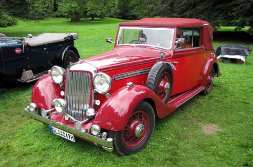 Tickford Armstrong Siddeley HP25 DHC 1936