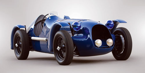 Louis Rosier's Figoni & Falaschi Talbot-Lago T150C SS Competition Roadster #90115