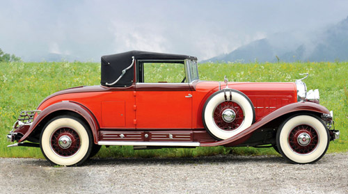 Fleetwood Cadillac V16 Convertible Coupe