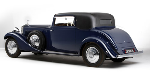 Hooper Rolls-Royce Phantom II Continental Sport Coupe 156MY 1933