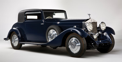 Hooper Rolls-Royce_Phantom II Continental Sports Coupe 156MY 1933