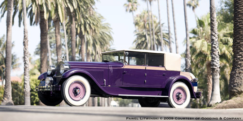 Murphy Packard 343 Convertible