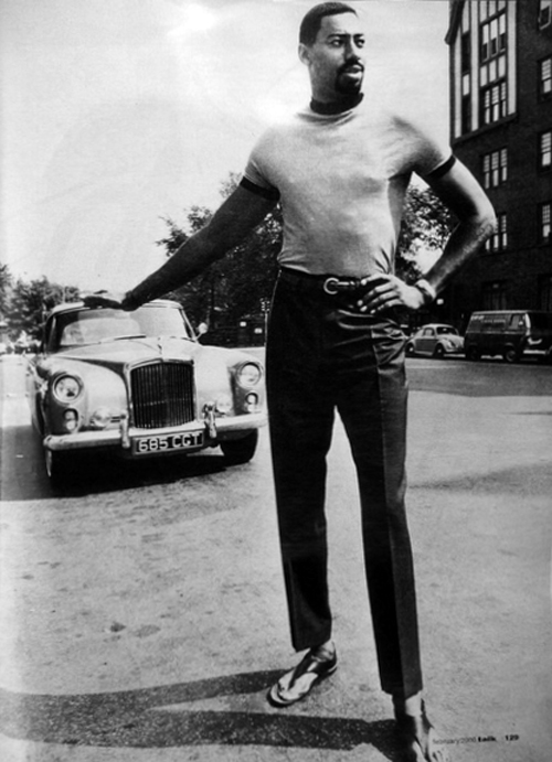 Park Ward Bentley S2 Continental Convertible Wilt Chamberlain