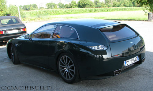 Coachbuild Com Another Italian Aston Martin Shooting Brake