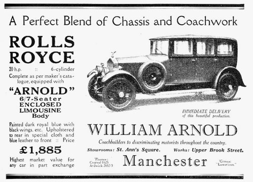 Rolls Royce Arnold advert