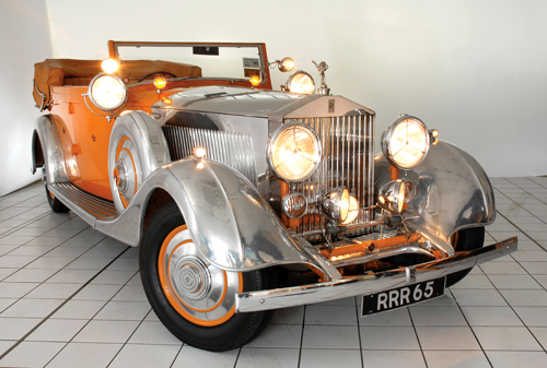 "Thrupp & Maberly Rolls-Royce Phantom II Allweather Cabriolet ""Star of India"" 188PY 1934"
