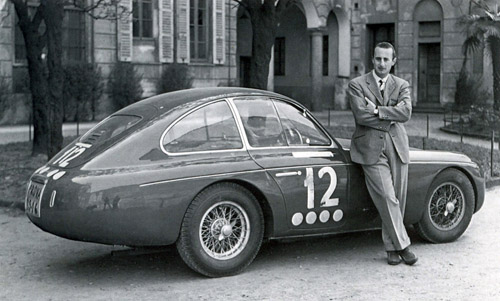Zagato Ferrari 166MM Panoramica Berlinetta #0018M