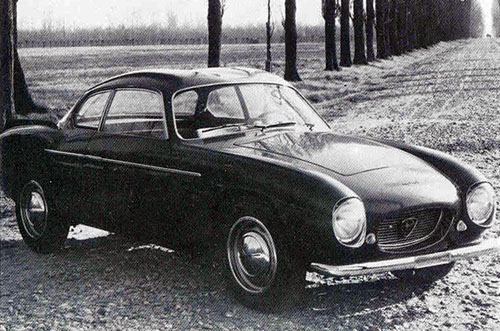 Zagato Lancia Appia 'double bubble'
