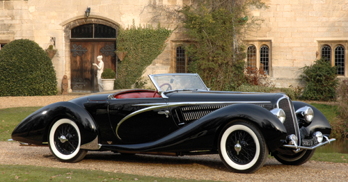 Figoni & Falaschi Delahaye 135MS Competition Cabriolet #49197