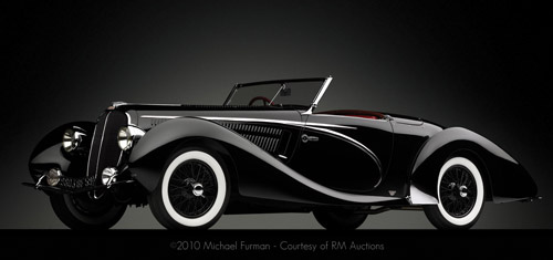 Figoni & Falaschi Delahaye 135 MS Competition Cabriolet 1938
