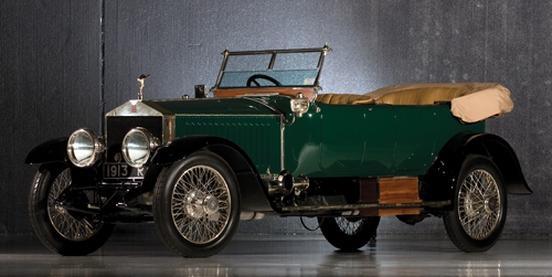 "H.J. Mulliner Rolls-Royce 40/50HP Silver Ghost ""London to Edinburgh"" Tourer"