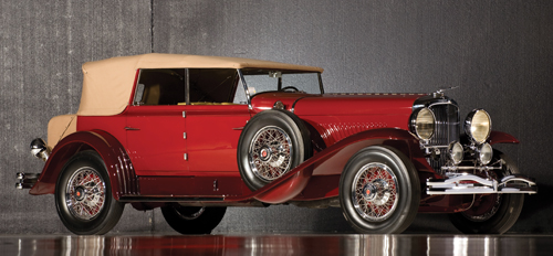 Murphy Duesenberg Model J Convertible Sedan