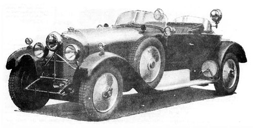 Thrupp & Maberly Bentley 6 1/2 Ltr Hunting Car WB2563 1928