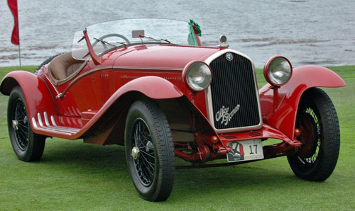 Touring Alfa Romeo 6C 1750 GS Roadster